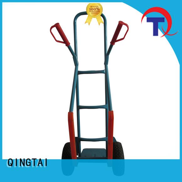 easily use folding platform cart China manufacturer for warehouses