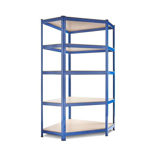 Qingtai QT6111 DIY Powder Coated Storage Corner Shelf With 5 Layers