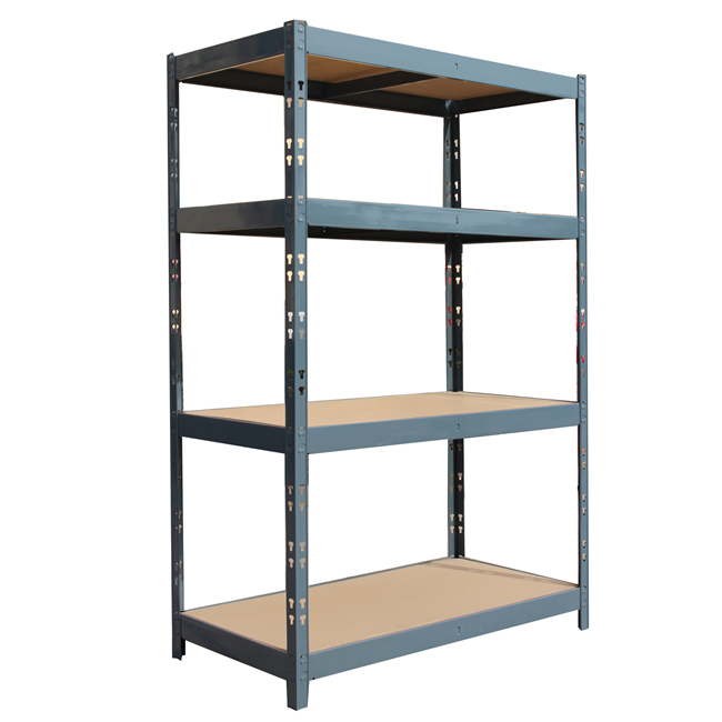 Qingtai QT6109 Powder Coated Butterfly Connect industrial storage shelves
