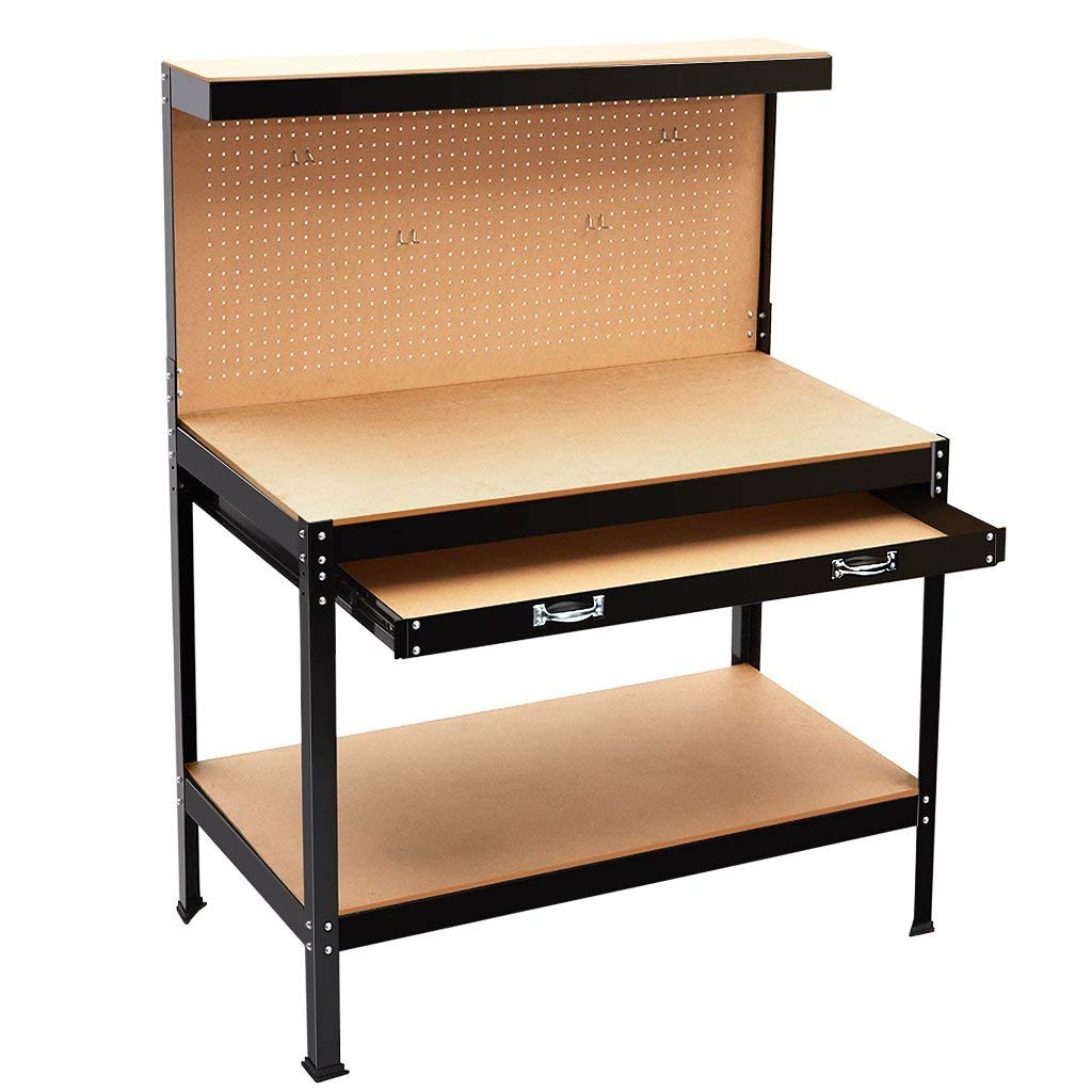 Qingtai QT6168 New DIY Metal Garage heavy duty Workbench