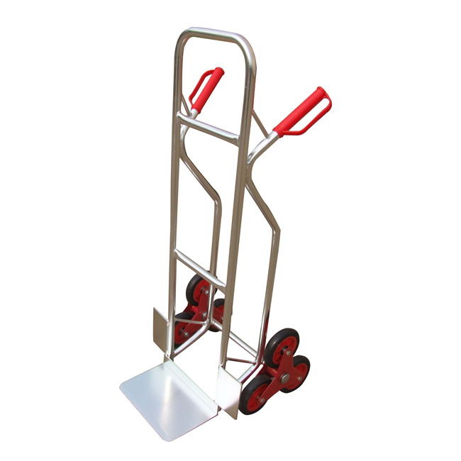 Qingtai QT3069 150KG Six Wheels Stair Climb Aluminium Hand Truck trolley hand cart