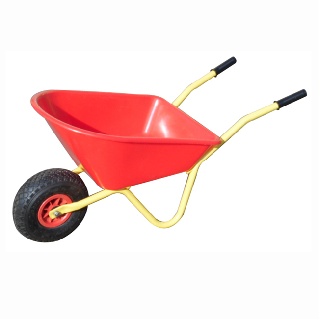 Qingtai QT1020 Plastic Tray Kids Garden heavy duty   Wheelbarrow