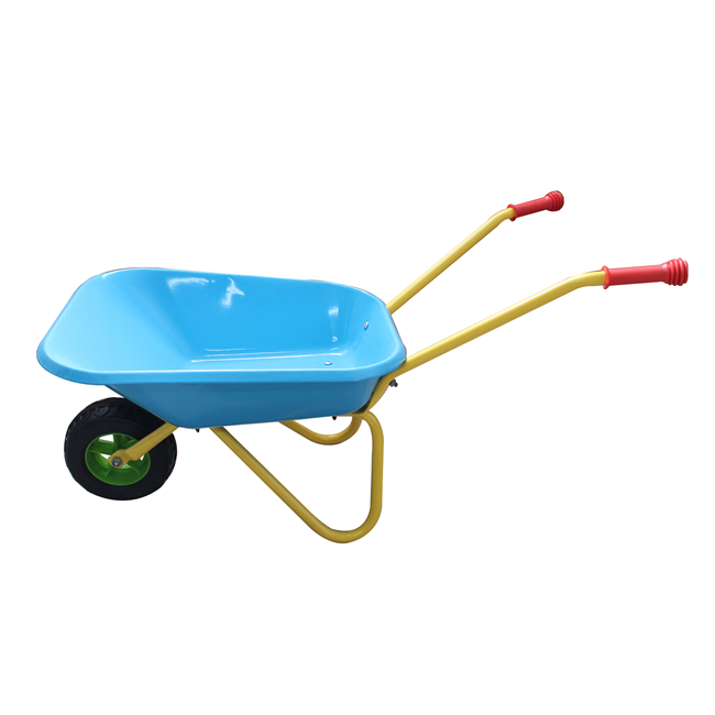 Qingtai QT1025 Powder Coated Kids garden trolley  Wheelbarrow