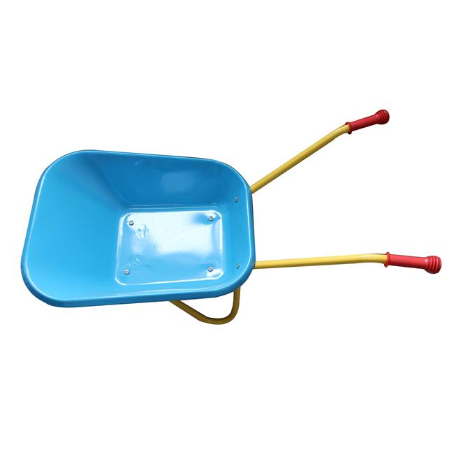 Qingtai QT1025 Powder Coated Kids garden trolley Wheelbarrow-QINGTAI