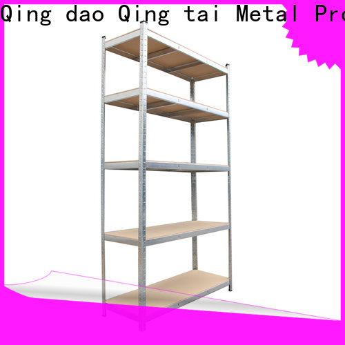 QINGTAI floating shelves with wire for factory