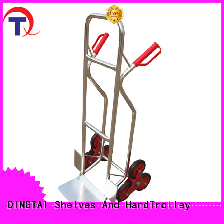 QINGTAI folding platform cart China manufacturer for warehouses
