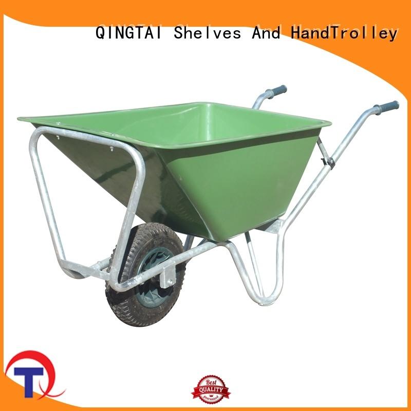 QINGTAI High-quality home gardener wheelbarrow company for architectural