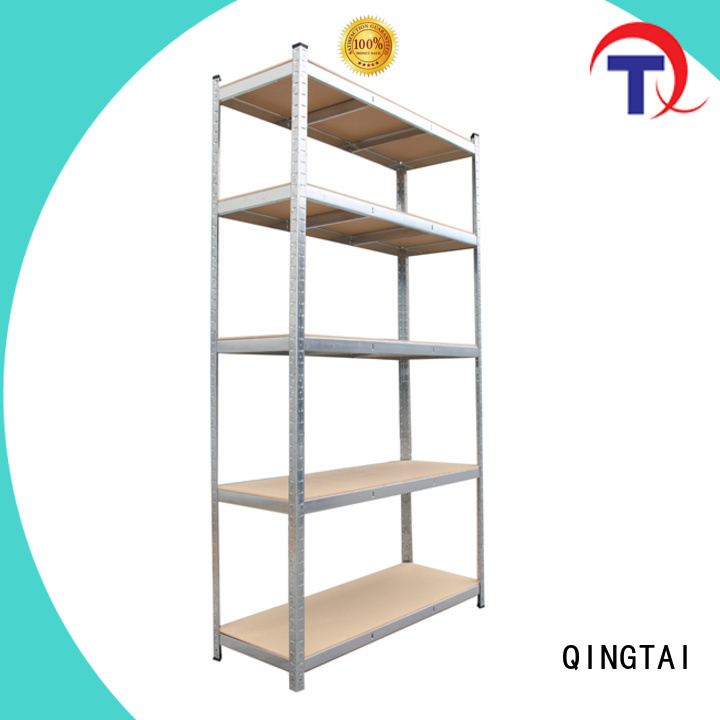 QINGTAI Best quality industrial storage shelves company for school