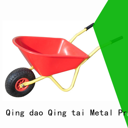 QINGTAI steel wheelbarrow tub Suppliers for carrying small loads