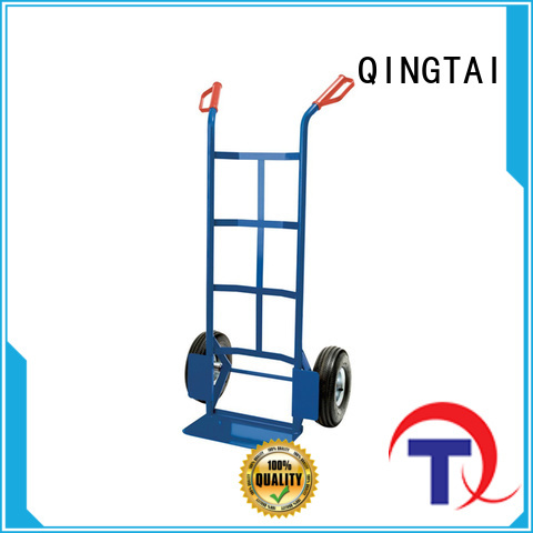 QINGTAI practical hand trolley from China for offices