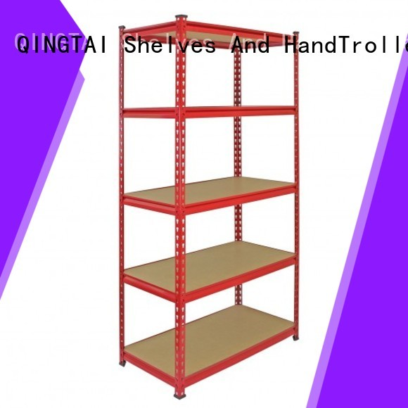 QINGTAI practical warehouse display racks for business for factory