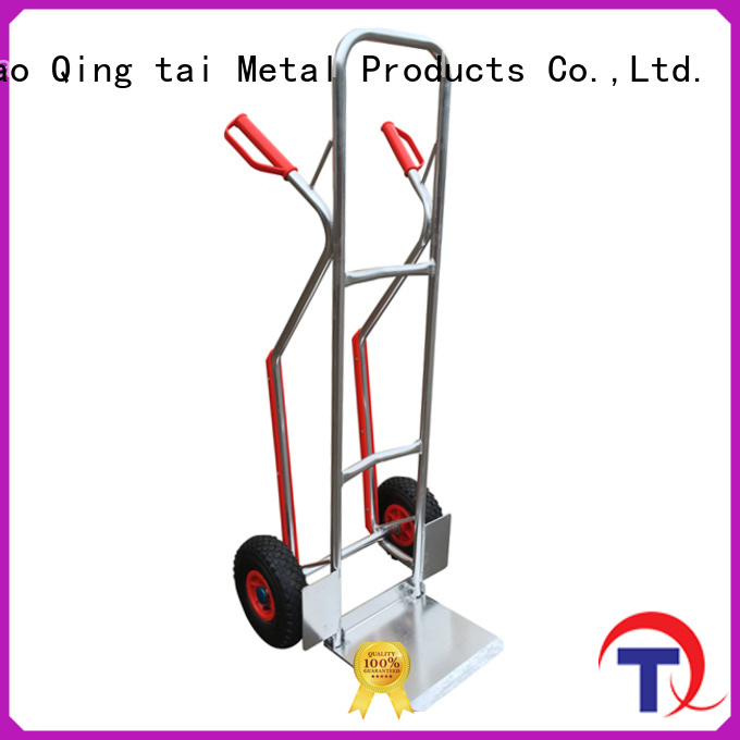 work easy fold up two wheel cart manufacturers for load heavy objects