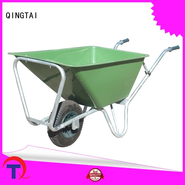 QINGTAI wheelbarrow price Factory price for carry rocks