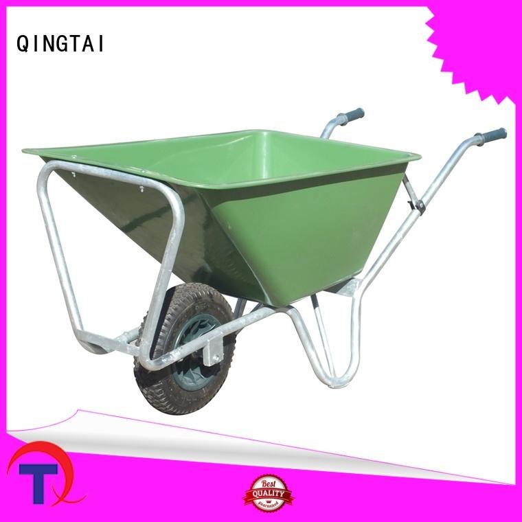QINGTAI wheelbarrow price Factory price for carry rocks