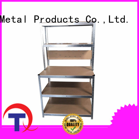 QINGTAI Easy Assembly prefab shelves from China for school