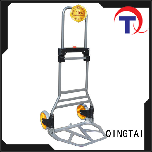 QINGTAI high-quality materials two wheel hand trolley factory for unload heavy objects