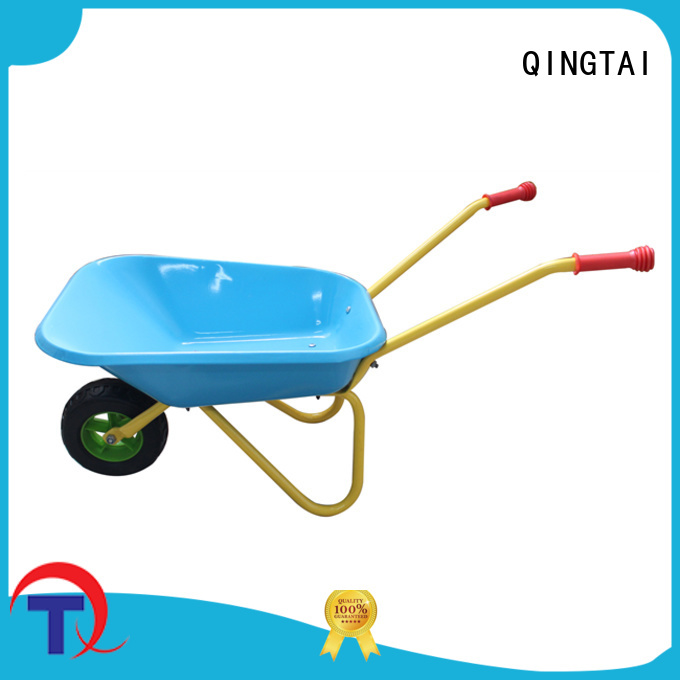 QINGTAI best wheelbarrow custom for carry rocks