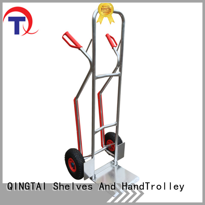 QINGTAI hand trolley from China for gardens