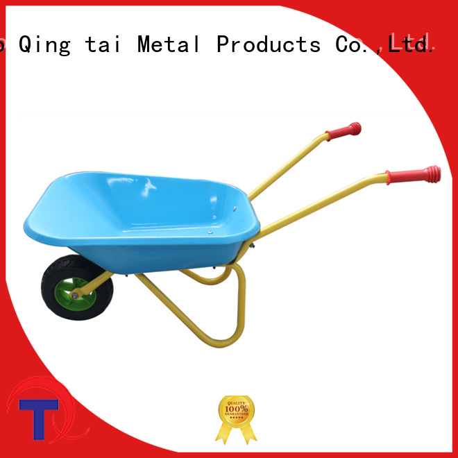 Custom wheelbarrow garden cart company for industrial