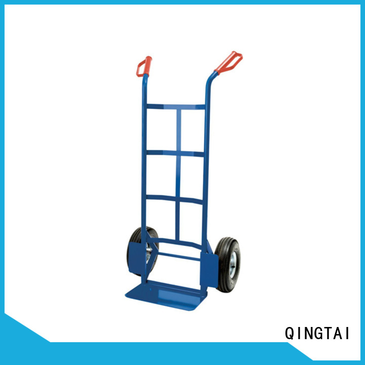 Top quality big wheel hand cart factory for load heavy objects