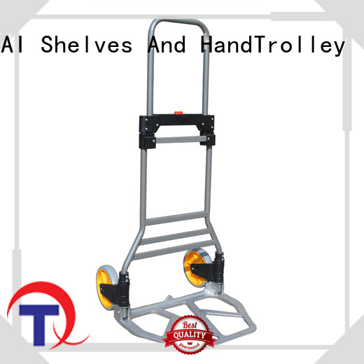 QINGTAI high-quality materials hand truck trolley custom for unload heavy objects