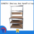 QINGTAI easy to assemble heavy duty storage shelves factory for school