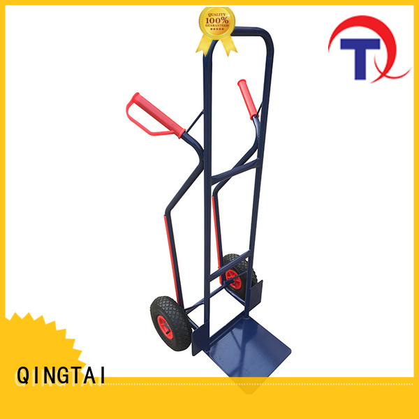 Strong structure folding hand cart custom for warehouses