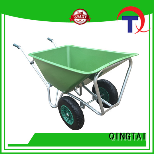 QINGTAI Wholesale custom wheelbarrow Factory price for garden