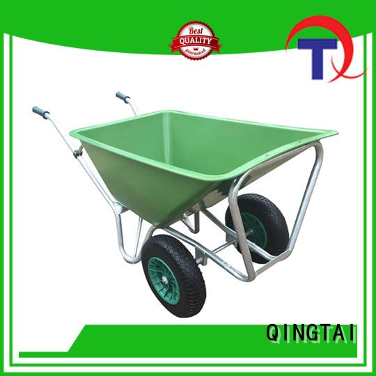 QINGTAI Wholesale custom wheelbarrow Factory price for garden