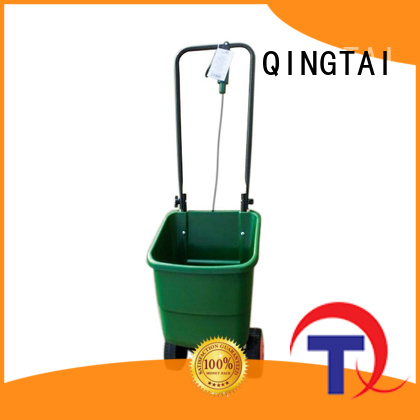QINGTAI lawn spreader supplier for garden