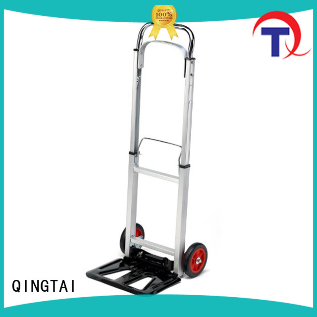 QINGTAI professional foldable hand trolley company for gardens