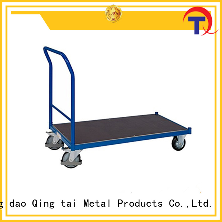 QINGTAI widely use folding hand cart customized for heavy transport
