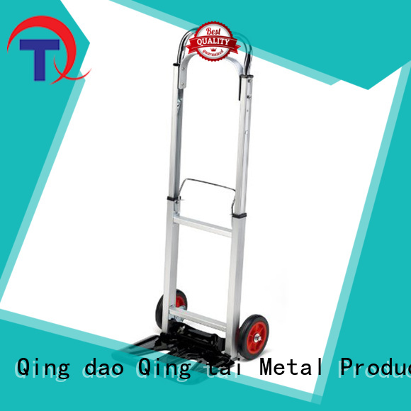 QINGTAI folding heavy duty hand truck Factory price for offices