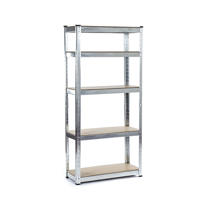 Qingtai QT6128 Galvanized Boltless Warehouse Shelf With 5 Layers