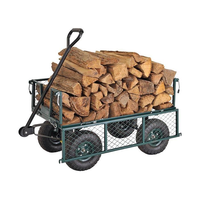product-Qingtai QT5043 Mesh Folding Garden Tool trolley Cart wagon cart-QINGTAI-img-1