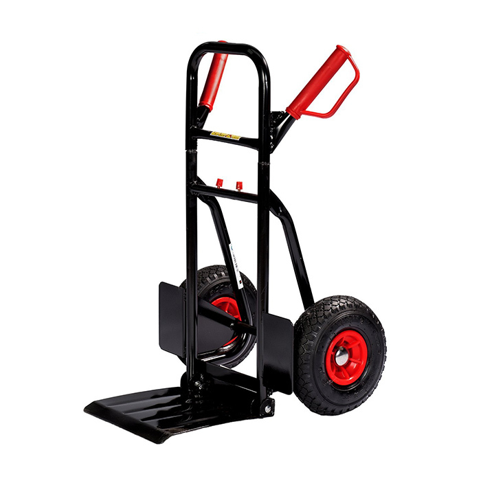 Qingtai QT3071 250KG Foldable Loading Plate Hand Trolley With Two Wheels