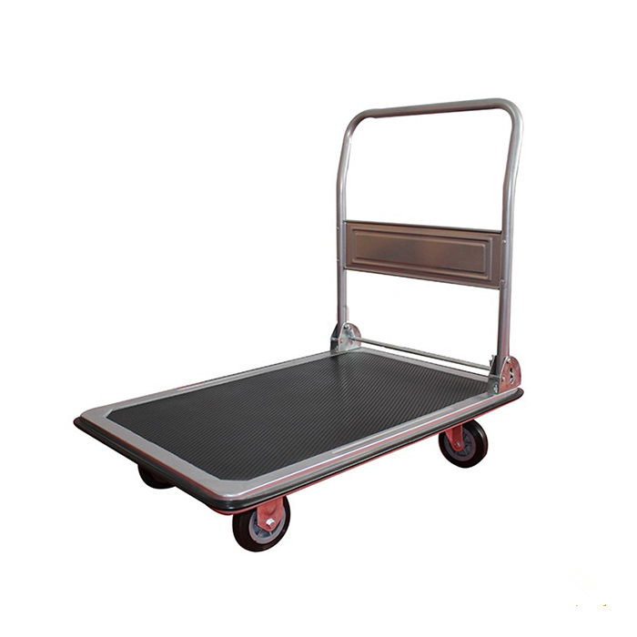 Qingtai QT2001 250kg Capacity Platform Folding Hand Cart With GS / TUV Approved