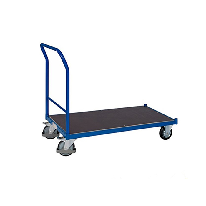 Qingtai QT6062 500kg Capacity Platform Folding Hand Cart With GS / TUV Approved