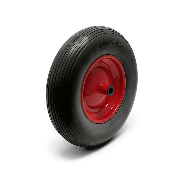 400-8 PU Wheel&pneumatic tires (iron rim)