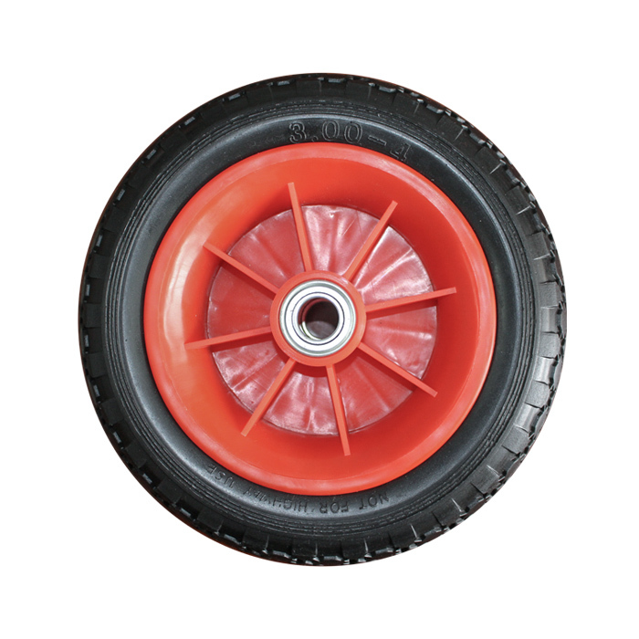 300-4 PU Wheel&pu wheel supplier(pp rim)