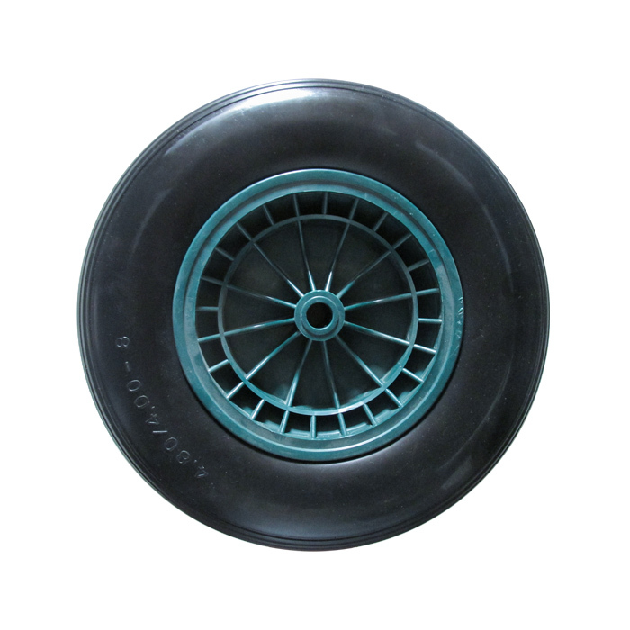 400-8 PU Wheel(pp rim)