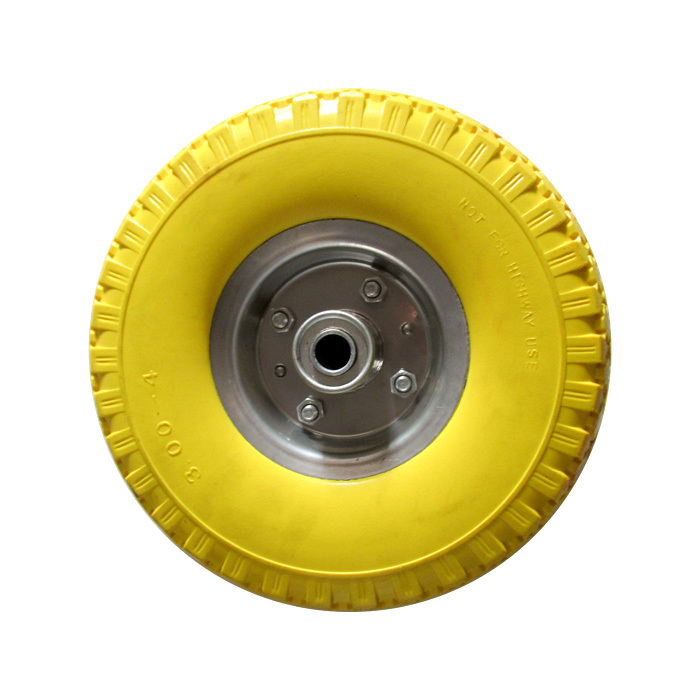 300-4 PU Wheel&pneumatic tire (iron rim)