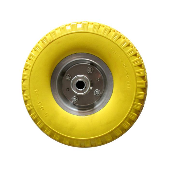 300-4 PU Wheel&pneumatic tire (iron rim)