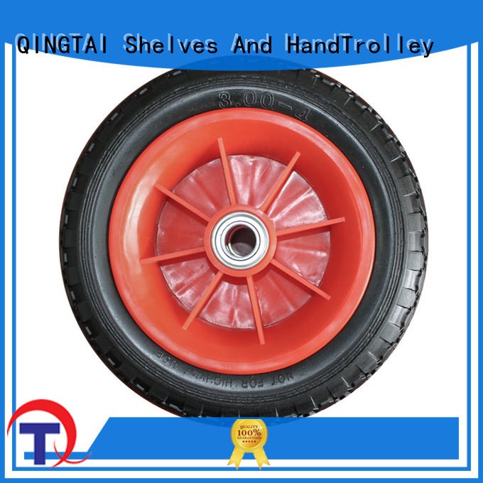 QINGTAI widely use pneumatic tyres custom for trolley