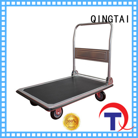 QINGTAI flatbed trolley custom for offices