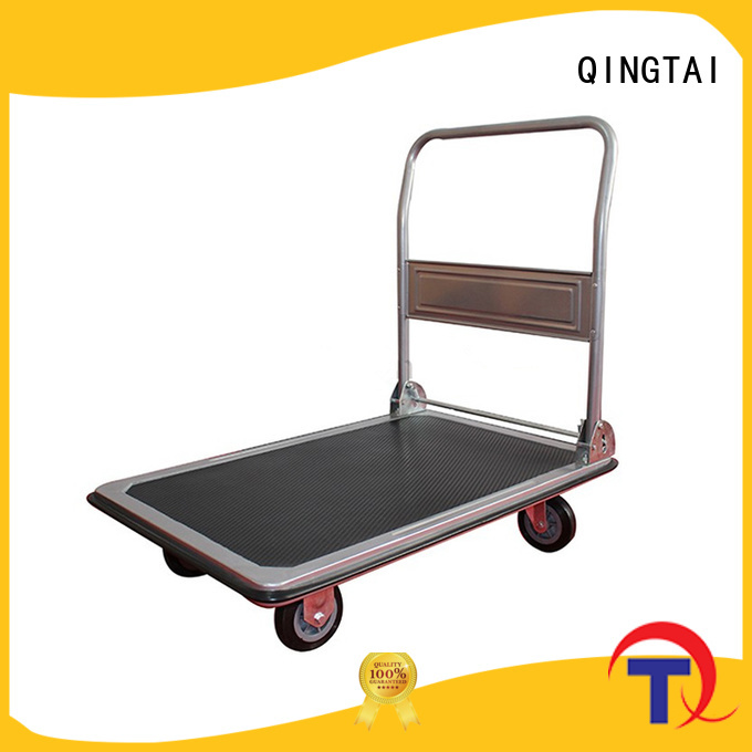 QINGTAI flatbed trolleys sale in China for offices