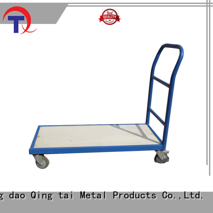 widely use platform truck factory for warehouses