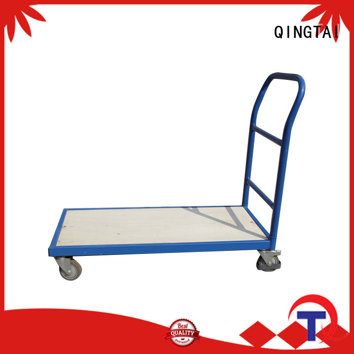 QINGTAI quality flat folding hand truck for carrying heavy loads