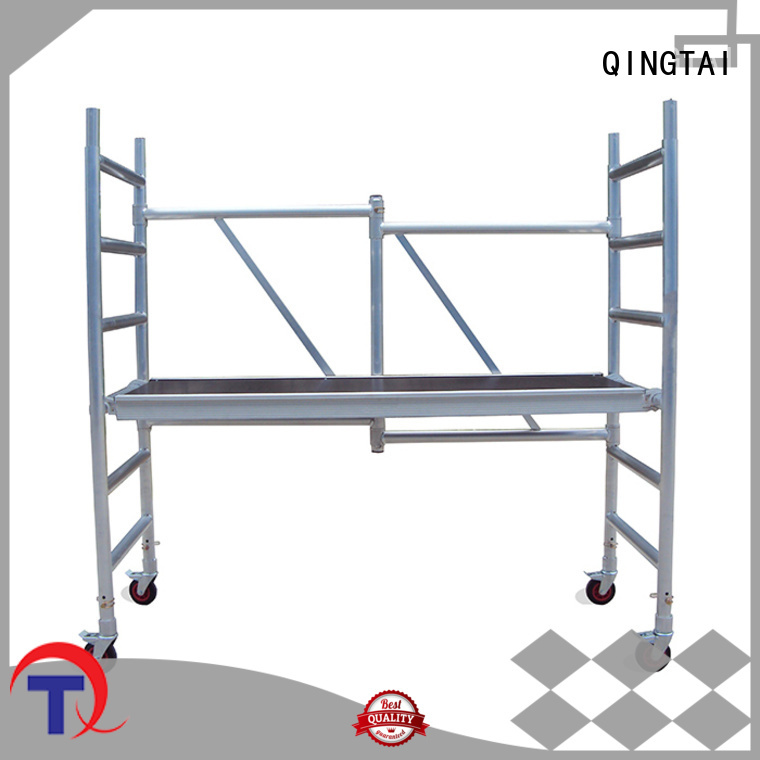 durable aluminium scaffold tower Factory price for outdoor Spaces
