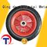 QINGTAI Easy Assembly custom wheels in China for wheelbarrow
